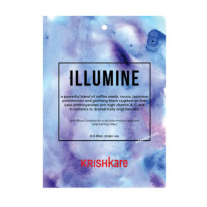 Illumine sheet mask
