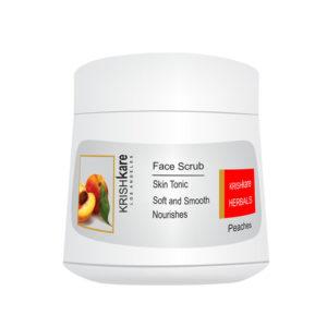 face scrub peaches