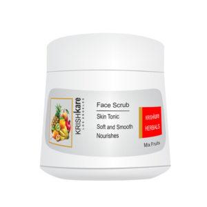 face scrub mix fruits